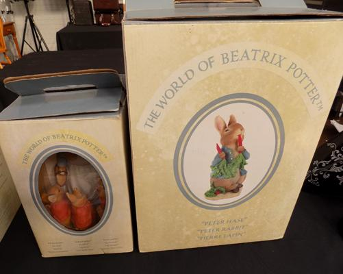 Beatrix Potter figures 2002 Polystone x2