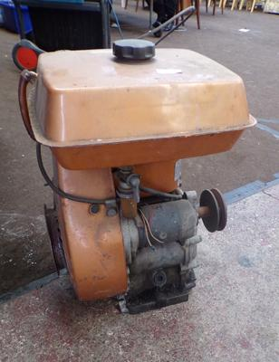 Kawasaki belt driven stationary engine, untested