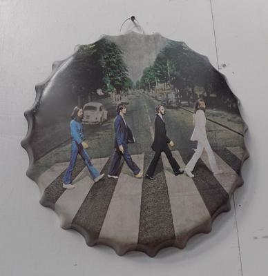 "10"" Beatles sign"
