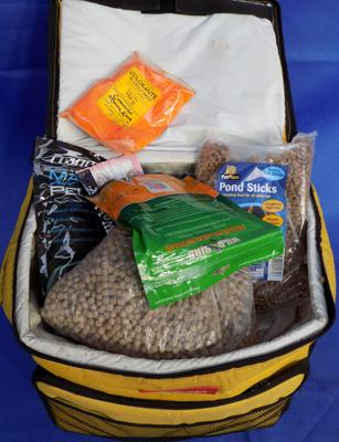 Large bag of fishing & ground bait etc...