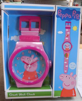 Brand new Peppa Pig wall clock