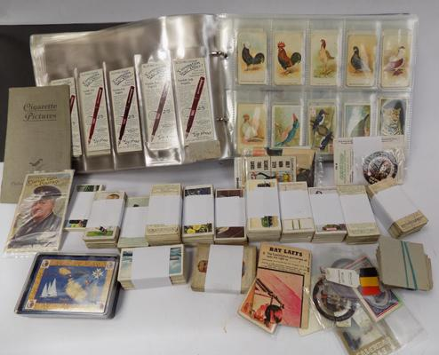 Cigarette cards, trade cards & others