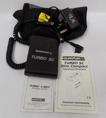 Turbo SC slim compact flash battery