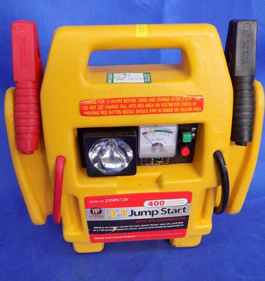 Four in One Jump Starter & Compressor