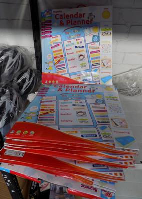 Joblot of magnetic calendar sets