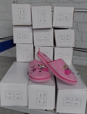 15 pairs of new girls slippers size 1-2