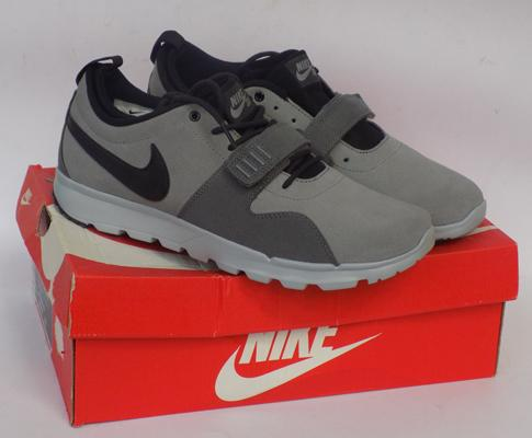 New Nike Roshe One Suede, grey trainers, size 10
