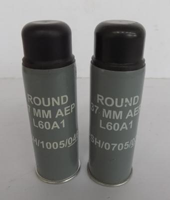Rubber bullets from Northern Ireland; circa 1975