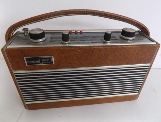 A vintage style Roberts radio, model number R505