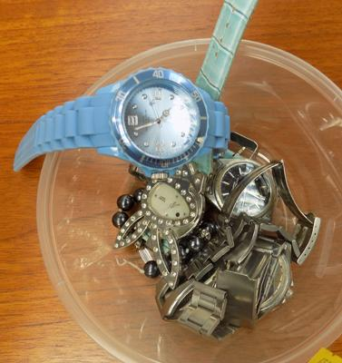 A selection of mixed watches