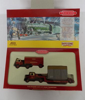 A die cast Lledo/Days Gone, Trackside boxed set - packaged as new