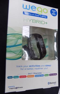 A 'Wego' hybrid tracking watch - packaged as new