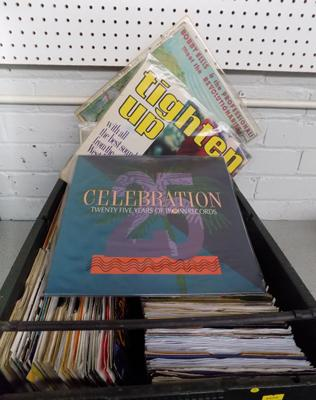 A selection of albums and singles; including Soul, Motown and rare Reggae including Trojan