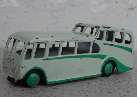 A Dinky die cast observation coach