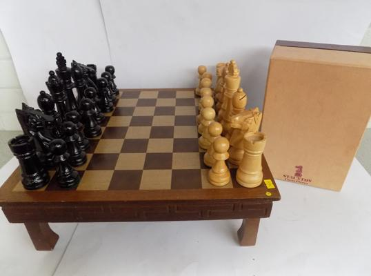 A Russian manufactured chess set