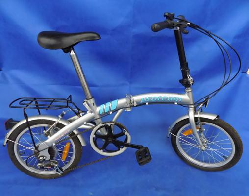 Pro - Team 6 gear folding bike, ideal for commuting, good condition