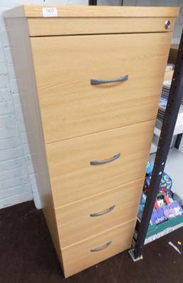 "Approx 4 ft 6"" file drawers"