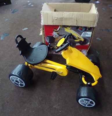 Injusa Go-kart, new in box with stickers (advertised at £300 Ebay)
