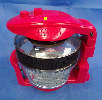 17 litre halogen oven - new c/w instruction book