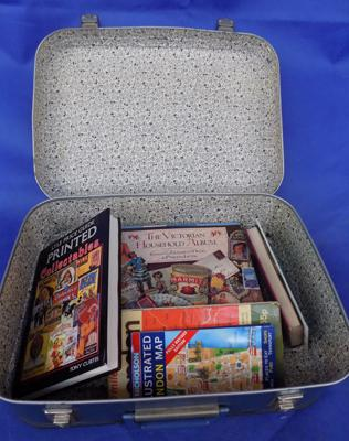 Suitcase of books (suitcase included)