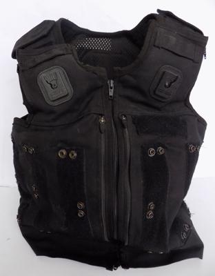 A military style bullet proof vest