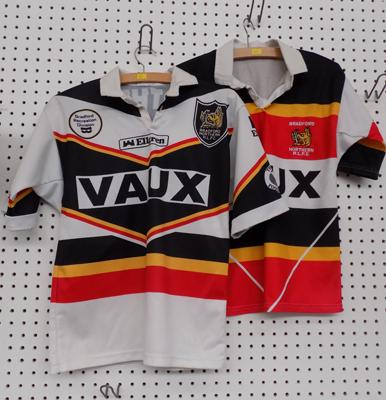 Two Bradford Northern rugby shirts