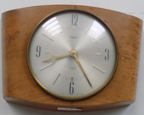 Vintage wall clock, Smith's of Great Britain