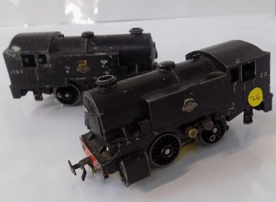 Two 00 gauge locomotives