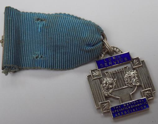 Sterling silver Long Service medal