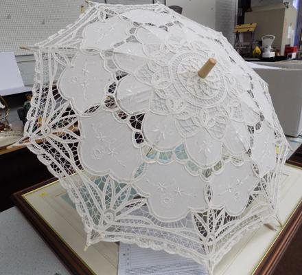 Ladies fabric parasol