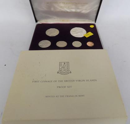 Virgin Islands First Coinage proof coin set