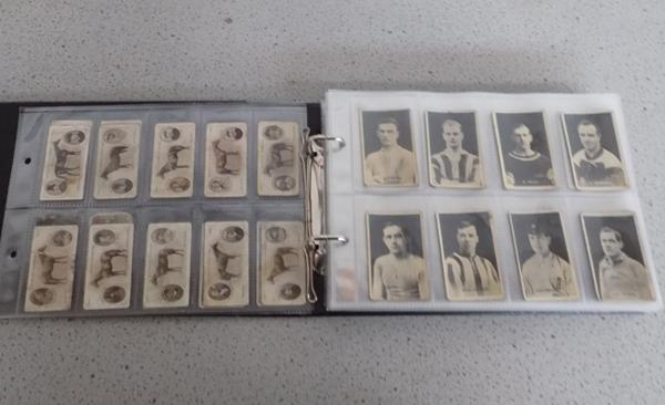 Sporting cigarette cards, some rare