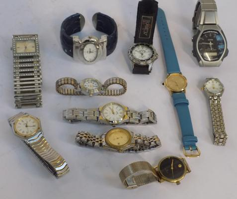 Collection of gent's & ladies watches