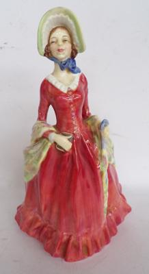 "Royal Doulton figurine Sabbath Morn HN1982. 7"" tall. Issued 1945-1959"