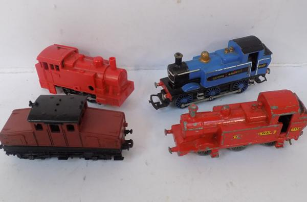 Four 00 gauge locomotives