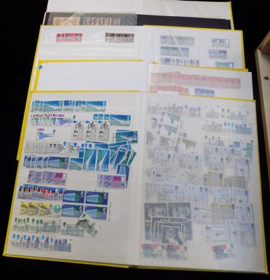 5 stockbooks of British stamps