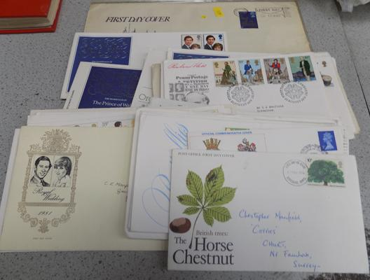 35 First day covers