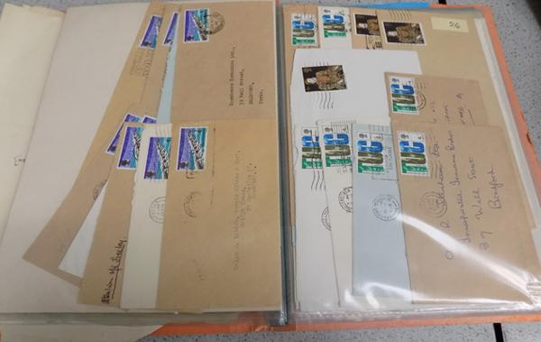 Collection of foreign stamps and first day covers