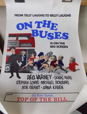 Original 'On the Buses' poster