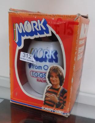 Mork from Ork eggship radio, in original box