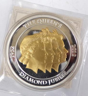 Queen's Diamond Jubilee Collector's coin in capsule