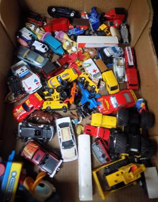 Box of diecast