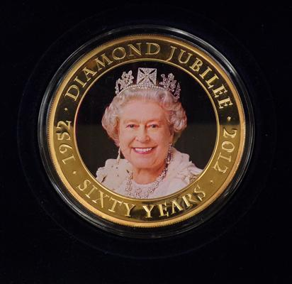 Boxed collector's coin - Diamond Jubilee