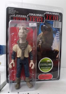 Yakface, Return of the Jedi figure by Gentle Giant Ltd.