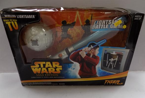 Star Wars Sega light saber battle game