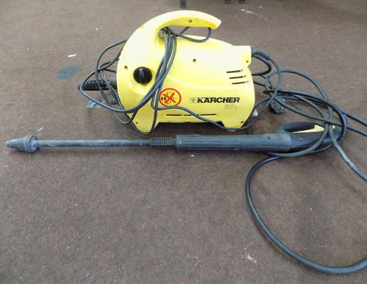 Karcher pressure washer in working order