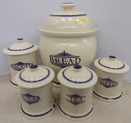 1869 Victorian Pottery set, made in Ireland