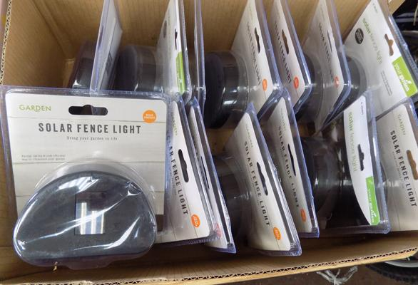 14 new solar lights