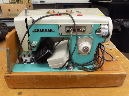 Vintage Chapman sewing machine in working order