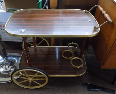Retro style hostess trolley
